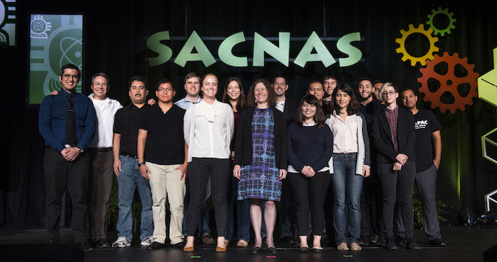 GWPAC members at SACNAS